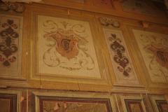 Дом братьев Сейлановых (Табидзе) Роспись парадной. Вензель
