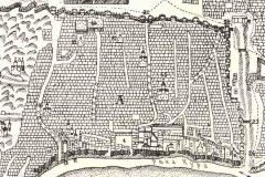 Старый город. Фрагмент карты Вахушти Багратиони
