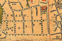 Фрагмент карты 1887 года