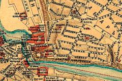 Авлабар. Фрагмент карты Тифлиса 1885 года