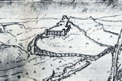 Тбилиси VIII -IX вв. Реконструкция В. Цинцадзе