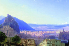 Иван Айвазовский. «Вид Тифлиса от Сейд-Абаза». 1868
