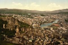 Вид на Нарикалу с горы Табори открытка XIX века