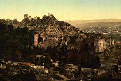 Вид на нарикалу и Ботанический сад, открытка XIX века