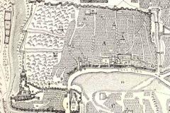 Стены Тифлиса на карте Вахушти Багратиони