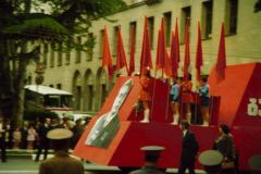Первомайский парад в Тбилиси