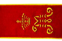 Погон Тифл.кадетского корпуса с вышитой буквой ,,М,, в честь великого князя Михаила Николаевича.