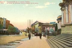 Вид от Зала Славы на Головинский проспект, из центра