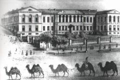 Первая Классическая гимназия Тифлис, Головинский проспект.