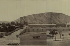 Вид на дом наместника кавказского в Тифлисе. В центре Гунибская площадь , на месте которой сейчас стоит бывшее здание Парламента