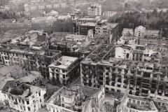 Последствия боев в центре Тбилиси 1991-1992 годов