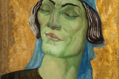 Ладо Гудиашвили. Голова воина. 1924.