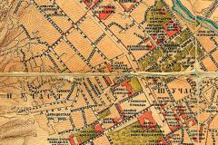 Фрагмент карты Тифлиса 1887 года