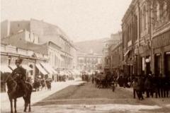 Дворцовая улица. Вид от Дворца Генерал-губернатора
