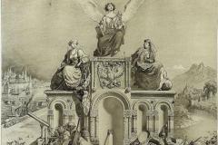 Рисунок занавеса Оперы. Г. Гагарина