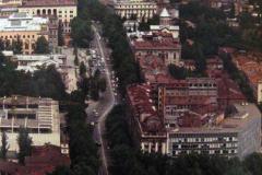 Вид с Сололакского хребта на Площадь Ленина и проспект Руставели