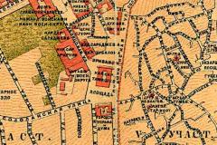 Фрагмент плана 1887 года
