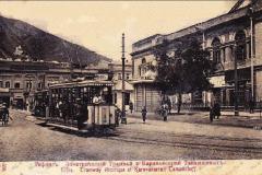 Трамвай на Эриванской площади