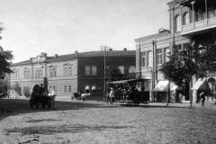 Конка на Головинском проспекте, фрагмент фото Д. Ермакова