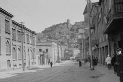 Улица Армянский базар (Абхази), вид в центр 1931 год справа виден Норашен