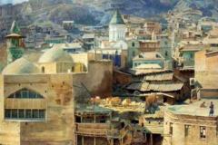 Тифлис..Картина Луиджи Премацци