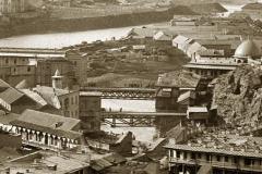 Метехский и Авлабарский мосты. Вид с горы Табори