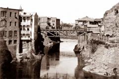 Метехский и Авлабарский мосты. Вид от устья Цавкисисцкали