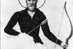 Вахтанг Горгосали. Фреска из Светицховели