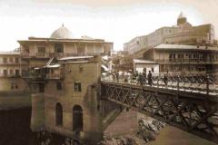 Вид на Метехский мост и Метескую крепость