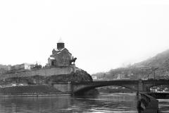 Вид на Метехи с Куры. 1950е
