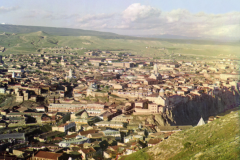 Фотография Прокудина-Горского. Вид Тифлиса. Внизу слева купол Нижней Бетании
