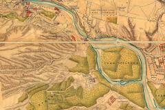 Фрагмент карты Тбилиси 1887 года
