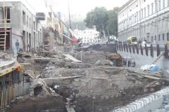 Раскопки на улице Пушкина. 2012 год