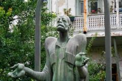 Памятник Иетиму Гурджи. Памятник Иетиму Гурджи в Тбилиси. Скульптор Д. Микадзе, архитектор Ш. Кавлашвили