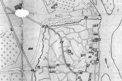 Карта Тбилиси 1800 года. Речные (Мухранские ворота) №50