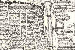 Карта Тбилиси Вахушти Багратиони. Дигомские ворота № 22
