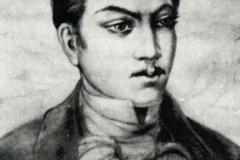 Николоз Бараташвили. Портрет Л. Гудиашвили