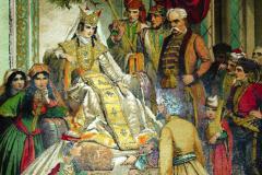 Иллюстрация к Витязю в тигровой шкуре