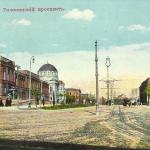 Дворец наместника на Кавказе вид на Головинский проспект от Дворцовой улицы