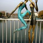Скультурная группа Молодость