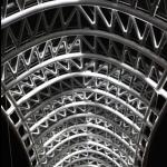 Мост Мира. Ночью