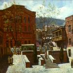 """Джованни Вепхвадзе """"Тбилисская синагога"""""""