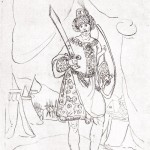 Ростом I из альбома зарисовок дона Кристофоро де Кастелли