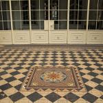 Плитка в доме Сараджишвили