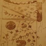 Х век Арабская карта с упоминанием Тбилиси