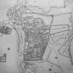 1785 Карта Тбилиси написанная русским офицером Александром Степановичем Пищевичем в 1785 году
