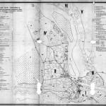 1800 План города Тифлиса с указанием исторических памяников на 1800 год из книги «Архитектура Тбилиси» Т. Р. Квирквелия