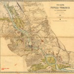 1887 - План города Тифлиса с окрестностями А.Ильина