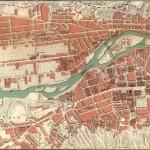 1913 План Тифлиса приложение к путеводителю Г.Москвича