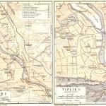 1914 Карта Тбилиси Wagner&Debes